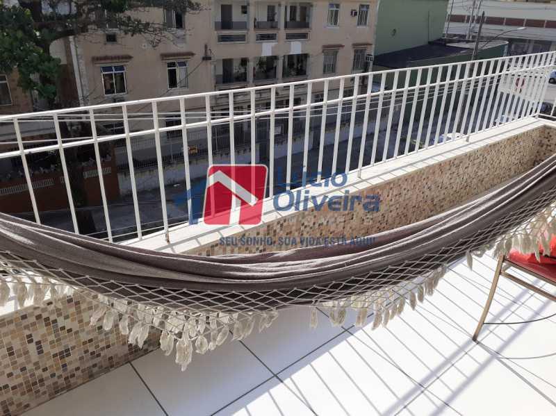27- Varanda - Apartamento à venda Rua Tomás Lópes,Vila da Penha, Rio de Janeiro - R$ 390.000 - VPAP21577 - 28