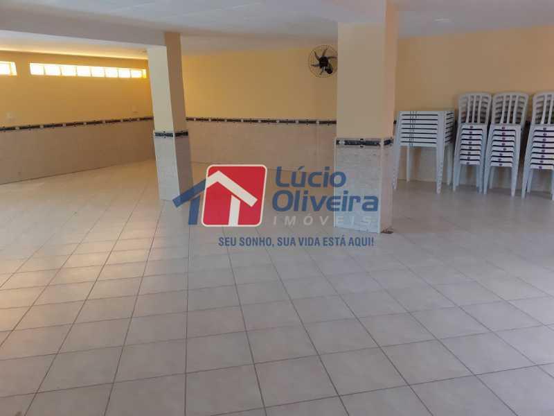 28- Salão de Festa - Apartamento à venda Rua Tomás Lópes,Vila da Penha, Rio de Janeiro - R$ 390.000 - VPAP21577 - 29