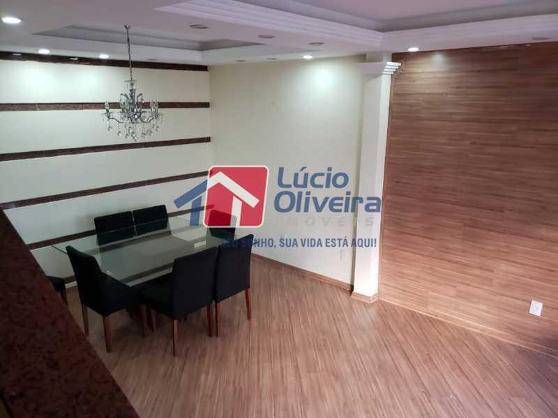 01- Sala - Casa em Condomínio à venda Rua Monte Pascoal,Cachambi, Rio de Janeiro - R$ 510.000 - VPCN30014 - 1