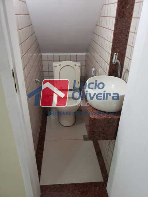 03- Lavabo - Casa em Condomínio à venda Rua Monte Pascoal,Cachambi, Rio de Janeiro - R$ 510.000 - VPCN30014 - 4