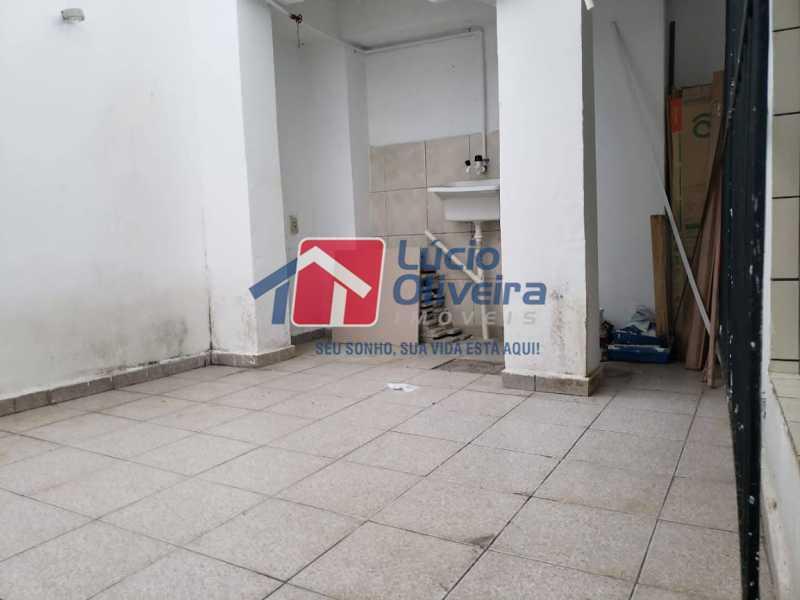 06- Area - Casa em Condomínio à venda Rua Monte Pascoal,Cachambi, Rio de Janeiro - R$ 510.000 - VPCN30014 - 7