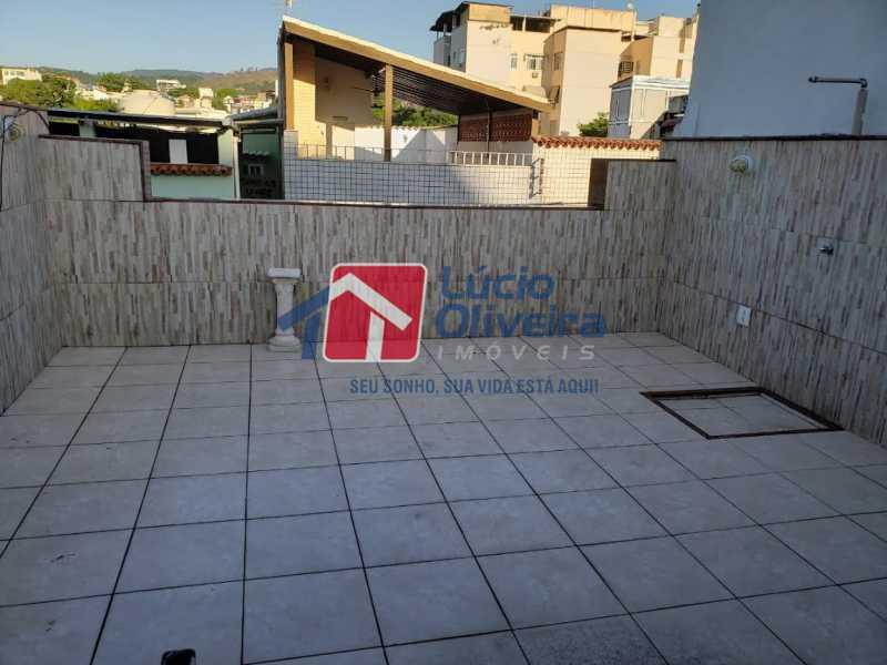 22- Terraço - Casa em Condomínio à venda Rua Monte Pascoal,Cachambi, Rio de Janeiro - R$ 510.000 - VPCN30014 - 23