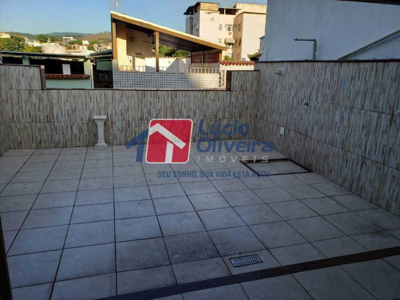 23- Terraço - Casa em Condomínio à venda Rua Monte Pascoal,Cachambi, Rio de Janeiro - R$ 510.000 - VPCN30014 - 24