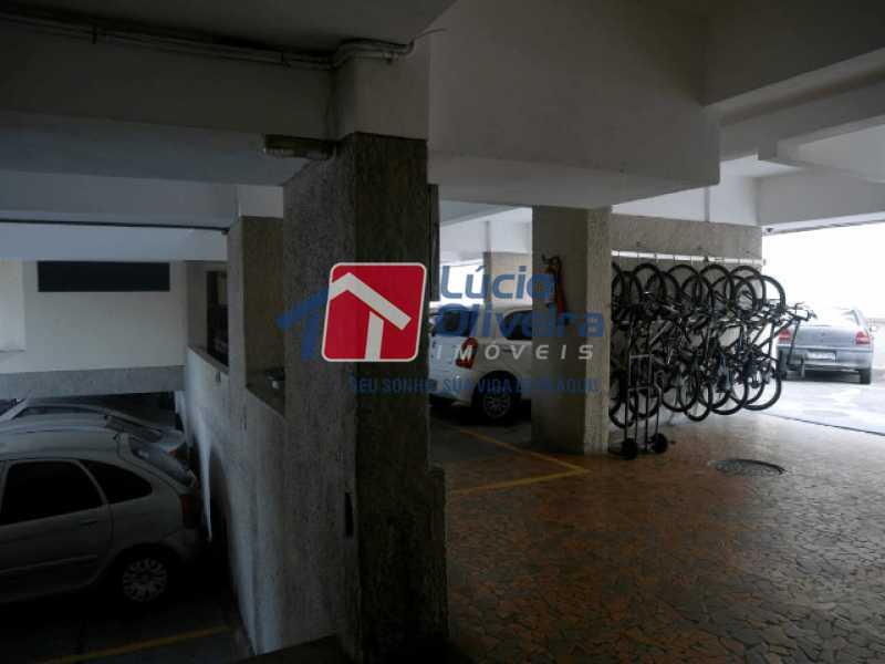 13-Garagem e bcicletario - Apartamento à venda Rua Almirante Calheiros da Graça,Méier, Rio de Janeiro - R$ 250.000 - VPAP21579 - 22