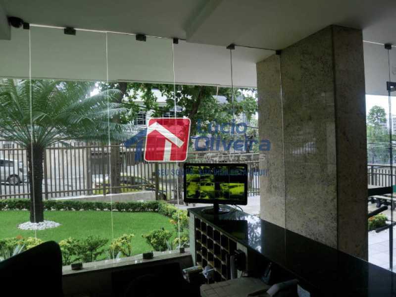15-Recepçao - Apartamento à venda Rua Almirante Calheiros da Graça,Méier, Rio de Janeiro - R$ 250.000 - VPAP21579 - 21
