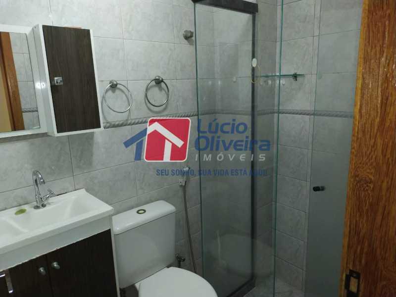 Banheiro 1 - Apartamento à venda Rua Almirante Calheiros da Graça,Méier, Rio de Janeiro - R$ 250.000 - VPAP21579 - 17