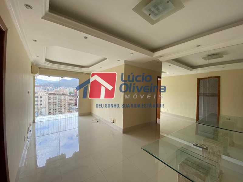 1-sala - Apartamento à venda Rua Vasco da Gama,Cachambi, Rio de Janeiro - R$ 490.000 - VPAP30397 - 1