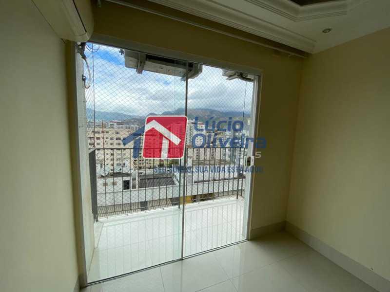 3-sala - Apartamento à venda Rua Vasco da Gama,Cachambi, Rio de Janeiro - R$ 490.000 - VPAP30397 - 4