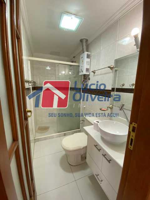 9-banheiro - Apartamento à venda Rua Vasco da Gama,Cachambi, Rio de Janeiro - R$ 490.000 - VPAP30397 - 10