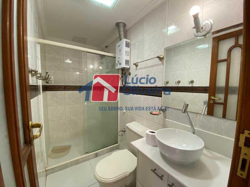 10-banheiro - Apartamento à venda Rua Vasco da Gama,Cachambi, Rio de Janeiro - R$ 490.000 - VPAP30397 - 11