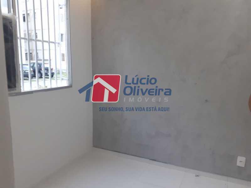 01- Sala - Apartamento à venda Rua Moacir de Almeida,Tomás Coelho, Rio de Janeiro - R$ 175.000 - VPAP21580 - 1