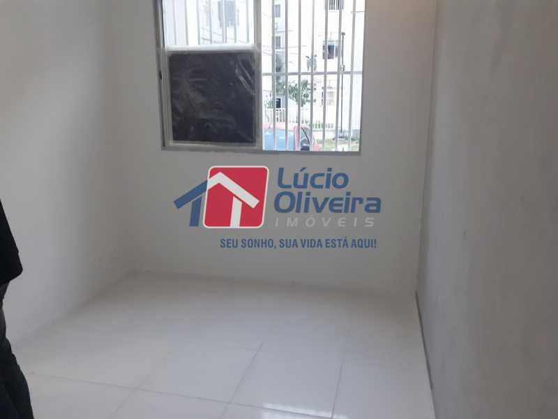 02- Sala - Apartamento à venda Rua Moacir de Almeida,Tomás Coelho, Rio de Janeiro - R$ 175.000 - VPAP21580 - 3