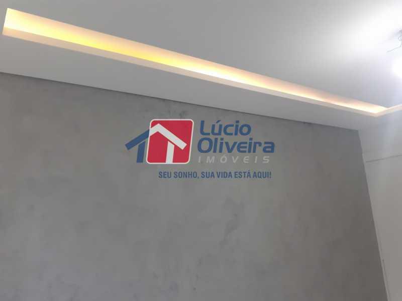 04- Sala - Apartamento à venda Rua Moacir de Almeida,Tomás Coelho, Rio de Janeiro - R$ 175.000 - VPAP21580 - 5