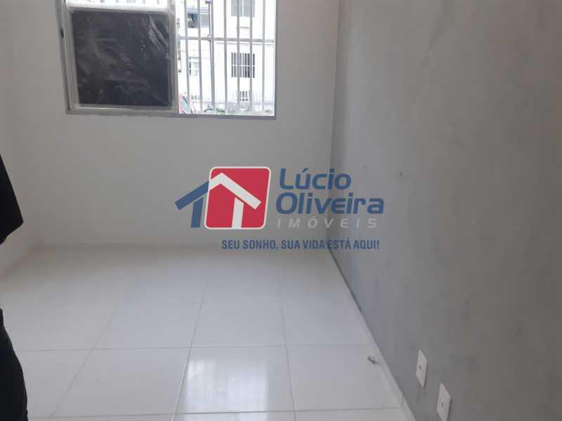 08- Sala - Apartamento à venda Rua Moacir de Almeida,Tomás Coelho, Rio de Janeiro - R$ 175.000 - VPAP21580 - 9