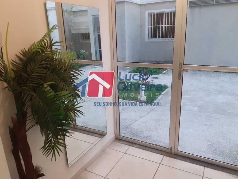 18- Hall Prédio - Apartamento à venda Rua Moacir de Almeida,Tomás Coelho, Rio de Janeiro - R$ 175.000 - VPAP21580 - 19