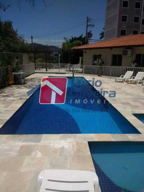 19- Piscina - Apartamento à venda Rua Moacir de Almeida,Tomás Coelho, Rio de Janeiro - R$ 175.000 - VPAP21580 - 20