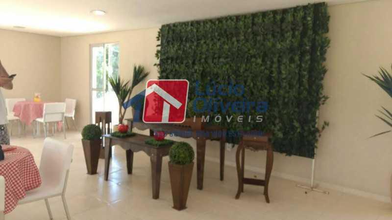 21- Salão de Festa - Apartamento à venda Rua Moacir de Almeida,Tomás Coelho, Rio de Janeiro - R$ 175.000 - VPAP21580 - 22