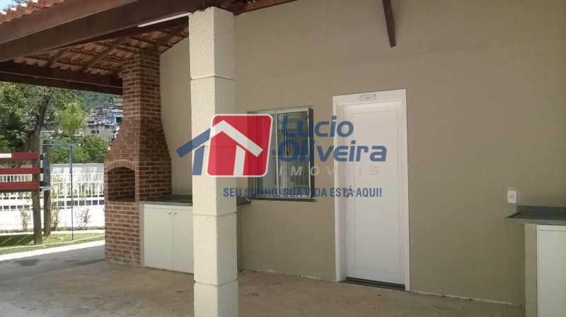22- Churrasqueira - Apartamento à venda Rua Moacir de Almeida,Tomás Coelho, Rio de Janeiro - R$ 175.000 - VPAP21580 - 23