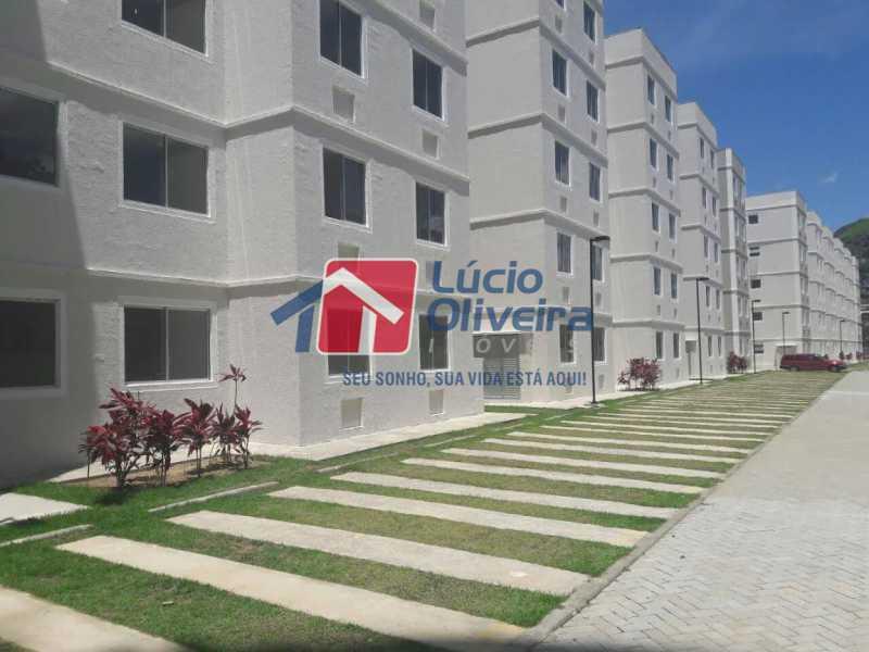 25- Estacionamento - Apartamento à venda Rua Moacir de Almeida,Tomás Coelho, Rio de Janeiro - R$ 175.000 - VPAP21580 - 26