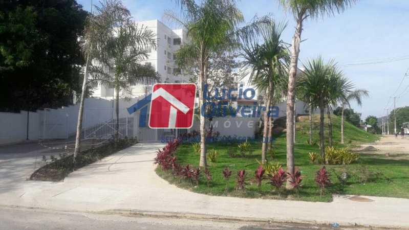26- Entrada Cond. - Apartamento à venda Rua Moacir de Almeida,Tomás Coelho, Rio de Janeiro - R$ 175.000 - VPAP21580 - 27