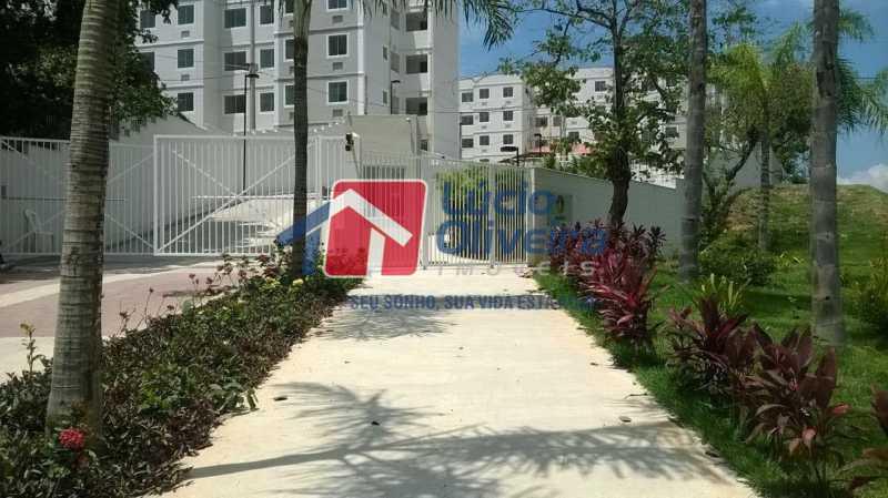27- Entrada Cond. - Apartamento à venda Rua Moacir de Almeida,Tomás Coelho, Rio de Janeiro - R$ 175.000 - VPAP21580 - 28