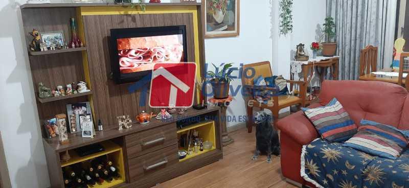 2-Sala estar - Apartamento à venda Rua São Francisco Xavier,Tijuca, Rio de Janeiro - R$ 545.000 - VPAP30399 - 3