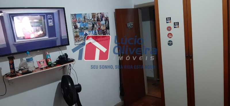 7-Quarto solteiro - Apartamento à venda Rua São Francisco Xavier,Tijuca, Rio de Janeiro - R$ 545.000 - VPAP30399 - 8