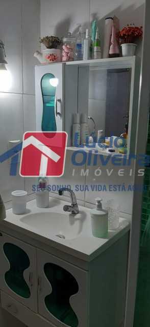 9-Banheiro social - Apartamento à venda Rua São Francisco Xavier,Tijuca, Rio de Janeiro - R$ 545.000 - VPAP30399 - 10