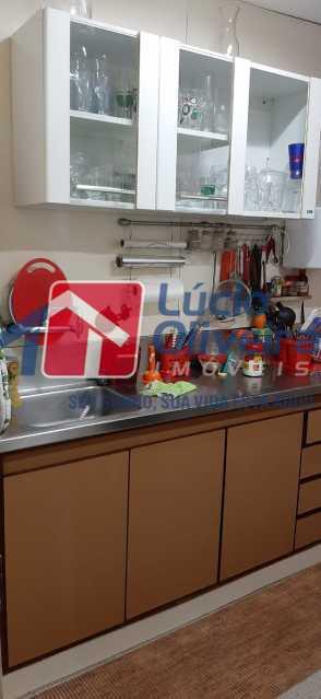 11-Cozinha armarios - Apartamento à venda Rua São Francisco Xavier,Tijuca, Rio de Janeiro - R$ 545.000 - VPAP30399 - 12