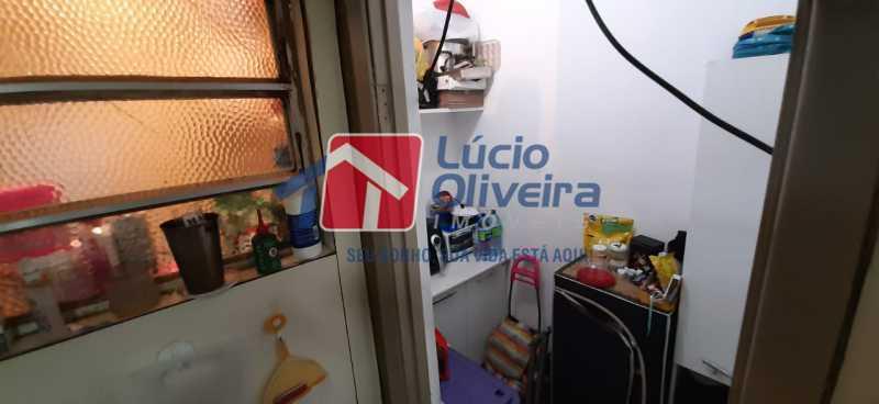 13-Dep de empregada - Apartamento à venda Rua São Francisco Xavier,Tijuca, Rio de Janeiro - R$ 545.000 - VPAP30399 - 14