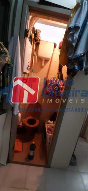 14-Banheiro Serviço - Apartamento à venda Rua São Francisco Xavier,Tijuca, Rio de Janeiro - R$ 545.000 - VPAP30399 - 15