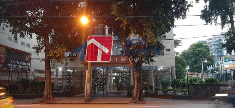 16-Frente prédio - Apartamento à venda Rua São Francisco Xavier,Tijuca, Rio de Janeiro - R$ 545.000 - VPAP30399 - 16