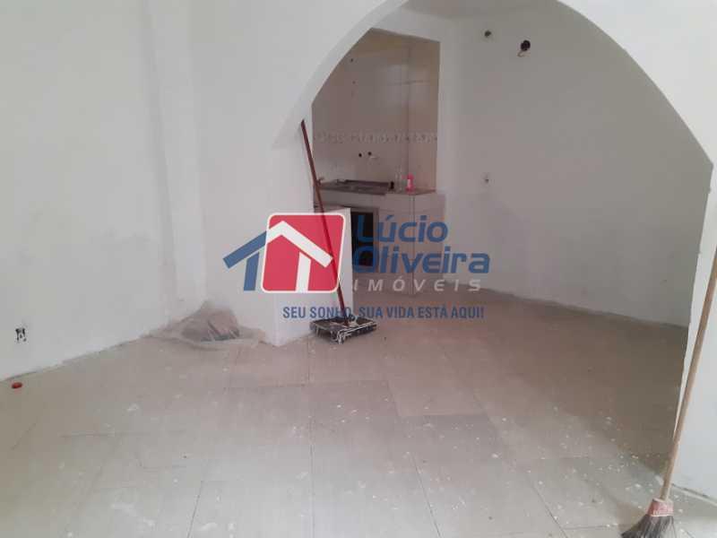 02- Sala - Casa de Vila à venda Rua Doutor Noguchi,Ramos, Rio de Janeiro - R$ 195.000 - VPCV30028 - 3