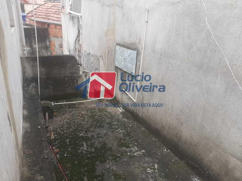 20- Varanda - Casa de Vila à venda Rua Doutor Noguchi,Ramos, Rio de Janeiro - R$ 195.000 - VPCV30028 - 21