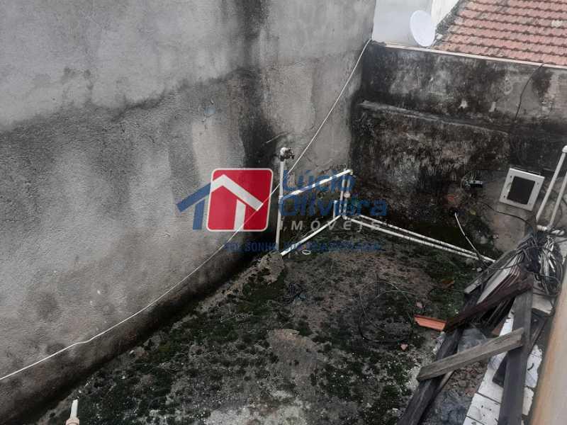 21- Varanda - Casa de Vila à venda Rua Doutor Noguchi,Ramos, Rio de Janeiro - R$ 195.000 - VPCV30028 - 22