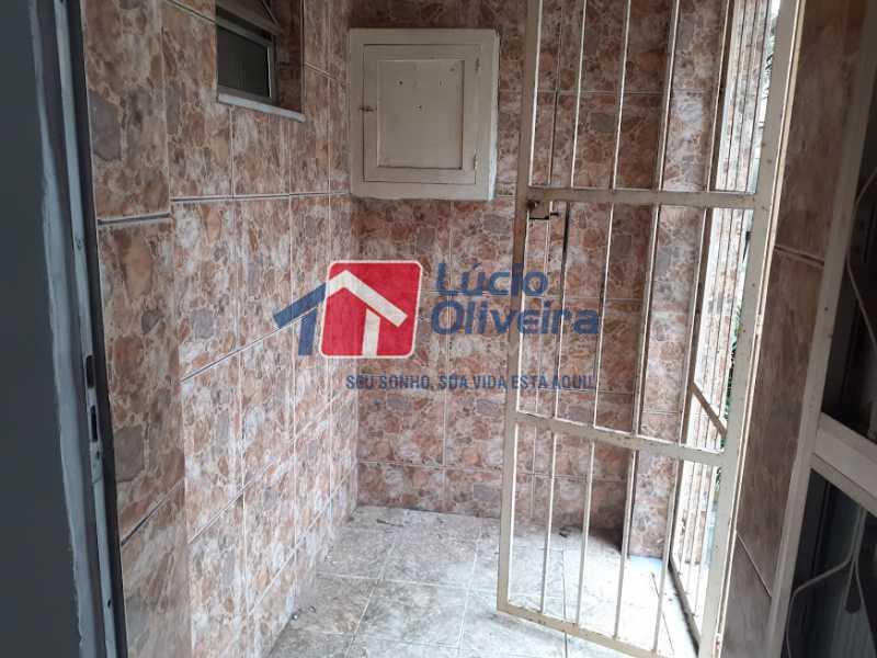 22- Varanda - Casa de Vila à venda Rua Doutor Noguchi,Ramos, Rio de Janeiro - R$ 195.000 - VPCV30028 - 23