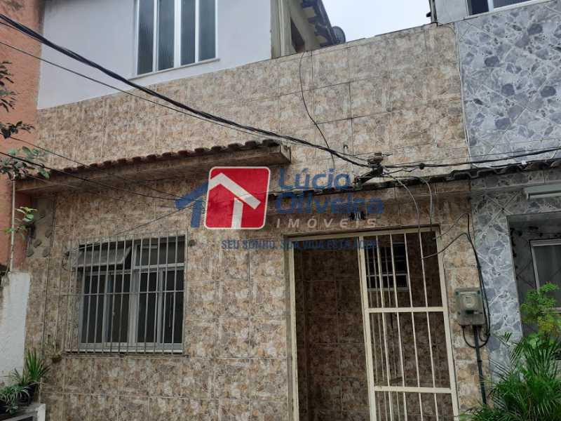 24- Fachada - Casa de Vila à venda Rua Doutor Noguchi,Ramos, Rio de Janeiro - R$ 195.000 - VPCV30028 - 25