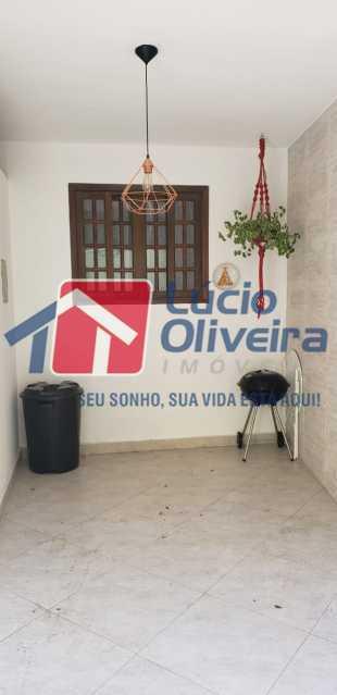 23- area externa - Casa 2 quartos à venda Braz de Pina, Rio de Janeiro - R$ 350.000 - VPCA20301 - 25
