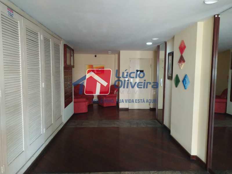 Hall de Entrada do Edifício - Apartamento 2 quartos à venda Méier, Rio de Janeiro - R$ 340.000 - VPAP21586 - 22