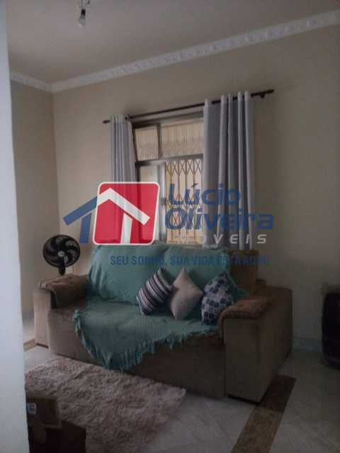 2-Sala. - Casa de Vila à venda Rua João Barbalho,Quintino Bocaiúva, Rio de Janeiro - R$ 390.000 - VPCV20065 - 4