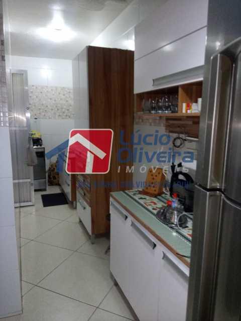 8-Cozinha. - Casa de Vila à venda Rua João Barbalho,Quintino Bocaiúva, Rio de Janeiro - R$ 390.000 - VPCV20065 - 10