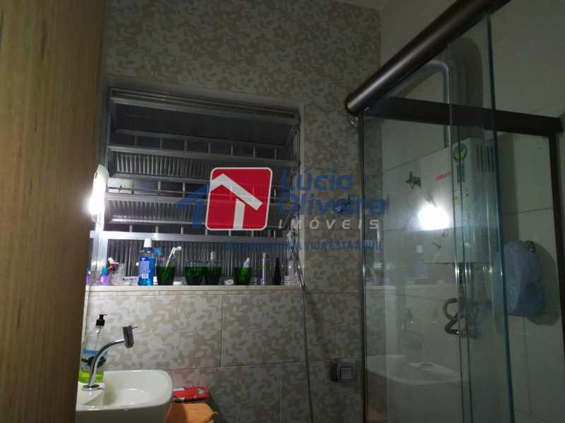 11-Banheiro. - Casa de Vila à venda Rua João Barbalho,Quintino Bocaiúva, Rio de Janeiro - R$ 390.000 - VPCV20065 - 13