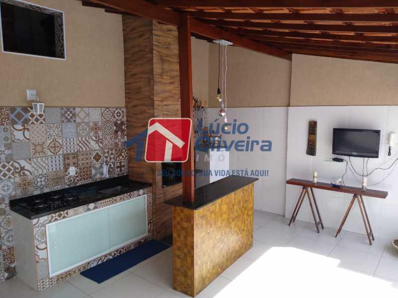 13-Área Gourmet Terraço ... - Casa de Vila à venda Rua João Barbalho,Quintino Bocaiúva, Rio de Janeiro - R$ 390.000 - VPCV20065 - 15