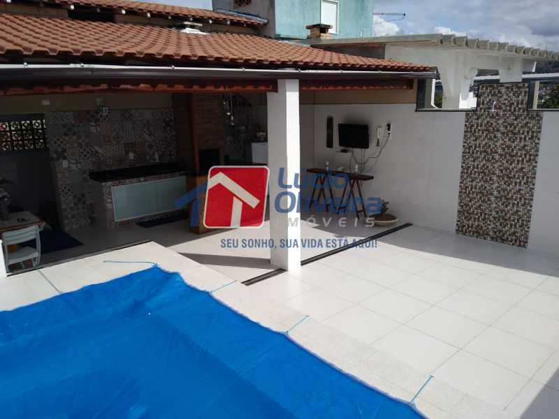 14-Área Gourmet Terraço... - Casa de Vila à venda Rua João Barbalho,Quintino Bocaiúva, Rio de Janeiro - R$ 390.000 - VPCV20065 - 1