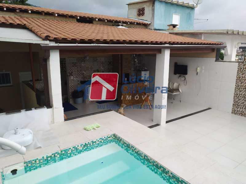 15-Piscina. - Casa de Vila à venda Rua João Barbalho,Quintino Bocaiúva, Rio de Janeiro - R$ 390.000 - VPCV20065 - 16