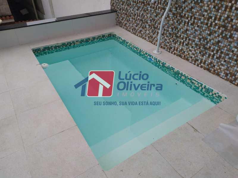 17-Piscina.. - Casa de Vila à venda Rua João Barbalho,Quintino Bocaiúva, Rio de Janeiro - R$ 390.000 - VPCV20065 - 18