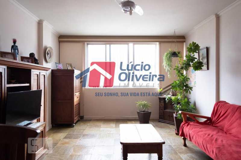2-Sala estar - Apartamento à venda Rua Marechal Jofre,Grajaú, Rio de Janeiro - R$ 455.000 - VPAP30400 - 3