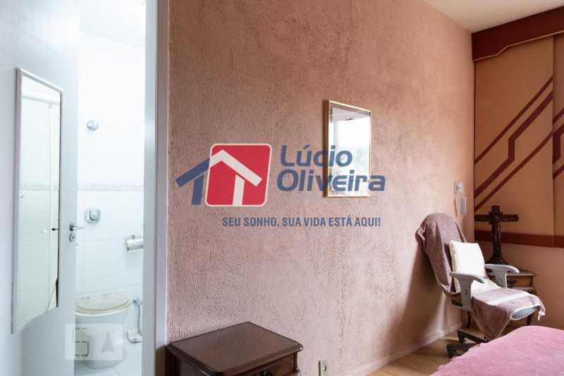 7-Quarto com suíte - Apartamento à venda Rua Marechal Jofre,Grajaú, Rio de Janeiro - R$ 455.000 - VPAP30400 - 8