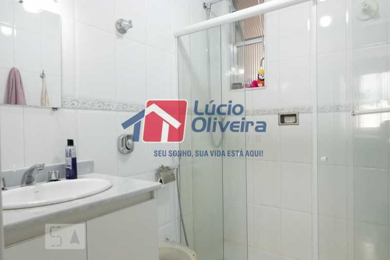 11-Banheiro social blindex - Apartamento à venda Rua Marechal Jofre,Grajaú, Rio de Janeiro - R$ 455.000 - VPAP30400 - 12