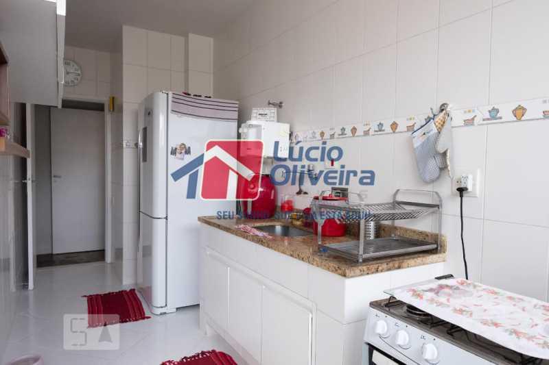 12-Cozinha com armários - Apartamento à venda Rua Marechal Jofre,Grajaú, Rio de Janeiro - R$ 455.000 - VPAP30400 - 13